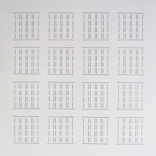 Hiding shape – marker on paper – 61 X 48 cm – January 2015