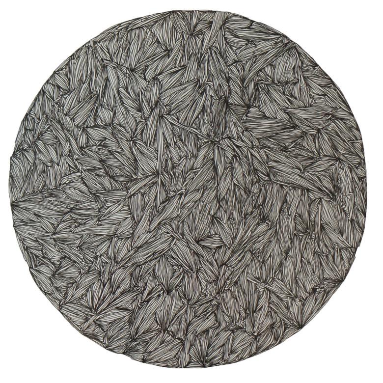Du point à l'astre__Rotring on paper__120 x 120 cm – 2013
